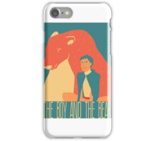The boy and the bear iPhone Case/Skin