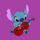 Stitch and Cello violet  by eleanor89