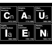 BECAUSE SCIENCE! (white) Sticker