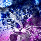 Galaxy Abstract NOW With Kitty Included! by LilithScream