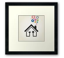 Home2 Framed Print