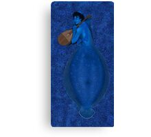 Page of Water Canvas Print