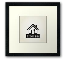 Home4 Framed Print