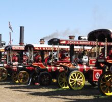 Showman's Line Up. (Sold in aid of Medway Queen restoration) Sticker