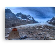 The glacial melt down Canvas Print