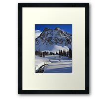 Highwood valley V Framed Print