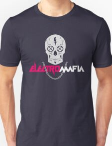Electro Mafia, red, dj, music, pop culture, swag T-Shirt