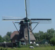 Netherlands Windmill. (Sold in aid of Medway Queen restoration) Sticker