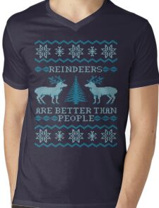 Reindeers Are Better Than People (Special Edition) Mens V-Neck T-Shirt