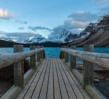 Bow Lake Entrance by Andrew Dickman