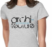 interior ARCHitecture Womens Fitted T-Shirt