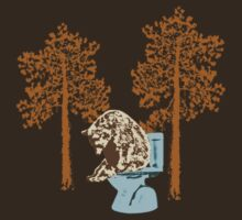 Bears Poop in the Woods by scoundrel