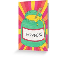 Jar of Happiness Greeting Card