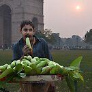 Fruit Seller by Peter Hammer