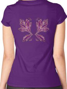 Unseelie Purple Wings Women's Fitted Scoop T-Shirt