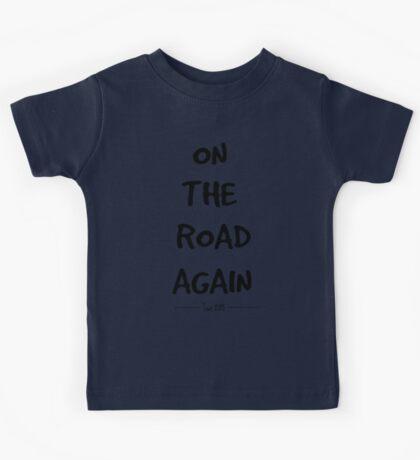On the Road Again Tour-2015 (black) Kids Tee