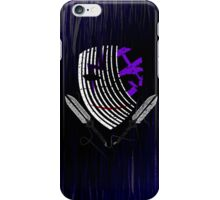 Darker Mask (extended) iPhone Case/Skin