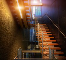 Upstairs Downstairs by Bob Larson