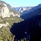 Valley hills in Yosemite National Park by Travel-Hop