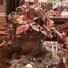 Poinsettia Center Piece by Sherry Hallemeier