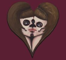 Sugar Skull Kiss by Kate Trenerry
