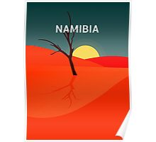 Colorful Lands - NAMIBIA Poster