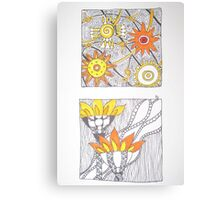 Meditation: Carrying the Flame Canvas Print