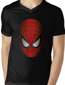 Vector SpiderMan Mens V-Neck T-Shirt
