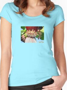 Flower Of The Banana Plant Women's Fitted Scoop T-Shirt