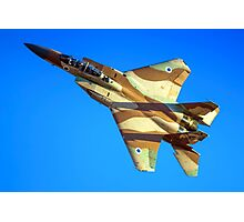 Israeli Air force (IAF) Fighter jet F-15I (Raam) in flight Photographic Print