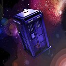 Tardis Acid Trip by drwhobubble