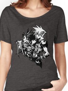 Sephiroth, Zack and Cloud Women's Relaxed Fit T-Shirt