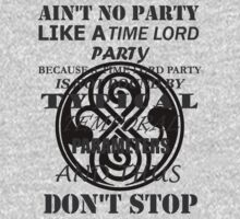 Time Lord Party (light shirts) by Silfrvarg