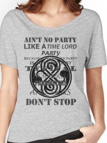 Time Lord Party (light shirts) Women's Relaxed Fit T-Shirt