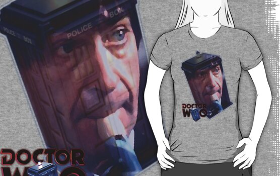 Patrick Troughton by drwhobubble