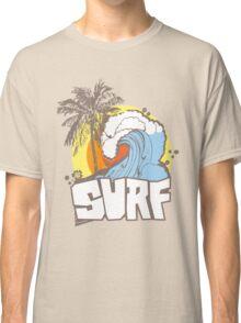 Retro Surf T-Shirt Design Classic T-Shirt