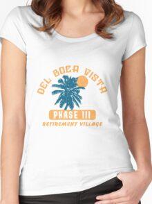 Del Boca Vista Retirement Village Women's Fitted Scoop T-Shirt