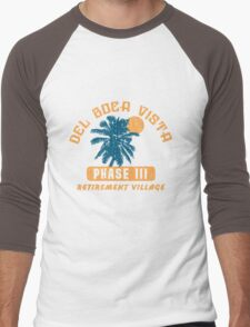 Del Boca Vista Retirement Village Men's Baseball ¾ T-Shirt