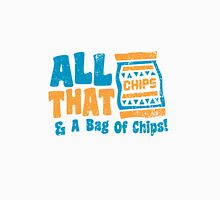 All that and a bag of chips Womens Fitted T-Shirt