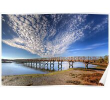 Quinta do Lago The Wooden Bridge Poster