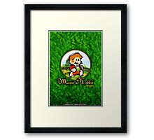 Mario Hobbit (Print Version) Framed Print