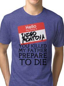 Inigo's Name Tag Tri-blend T-Shirt