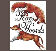 Tonight The Foxes Hunt The Hounds Kids Clothes