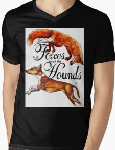Tonight The Foxes Hunt The Hounds Mens V-Neck T-Shirt