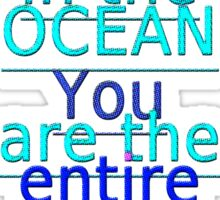 r3~ the entire ocean ~ ~ ~ Sticker
