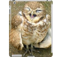 Laughing Owl iPad Case/Skin