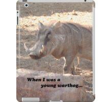 Pumba Warthog Hakuna Matata iPad Case/Skin