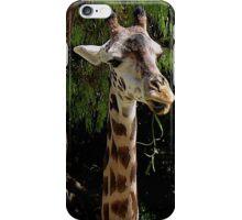 Farmer Giraffe iPhone Case/Skin