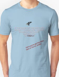 Firefly&Community: we'll bring the show back! - black version T-Shirt