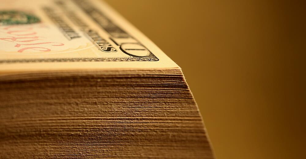 Huge Stack of Cash by mrivserg